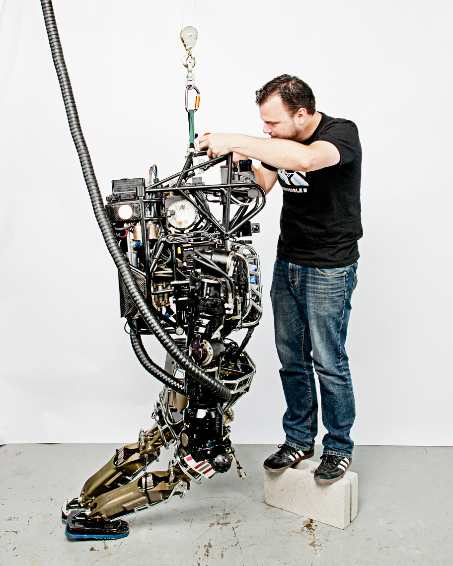 Atlas Robot, MIT Technology Review Magazine, US Department of Defense, Webb Chappell Photography