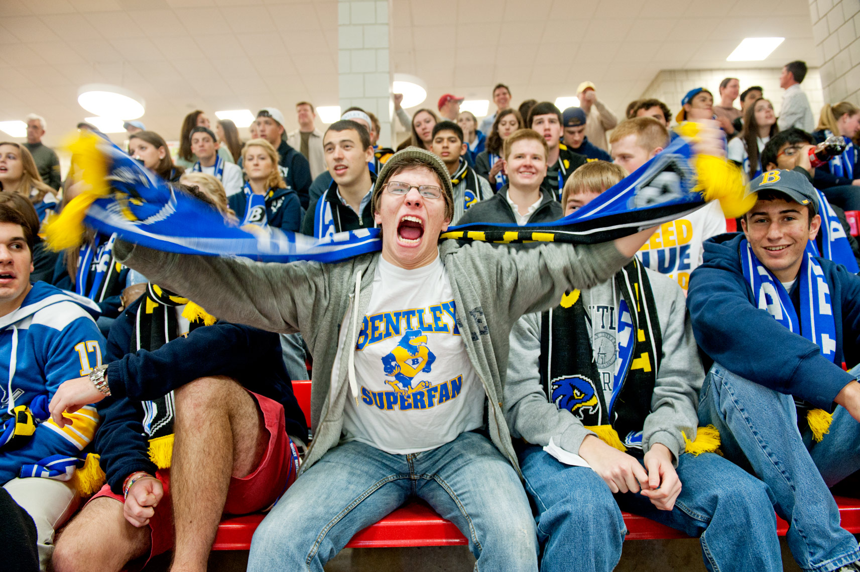 Bentley College, school spirit, Bentley Alumni Magazine, The Observer, Webb Chappell Photography