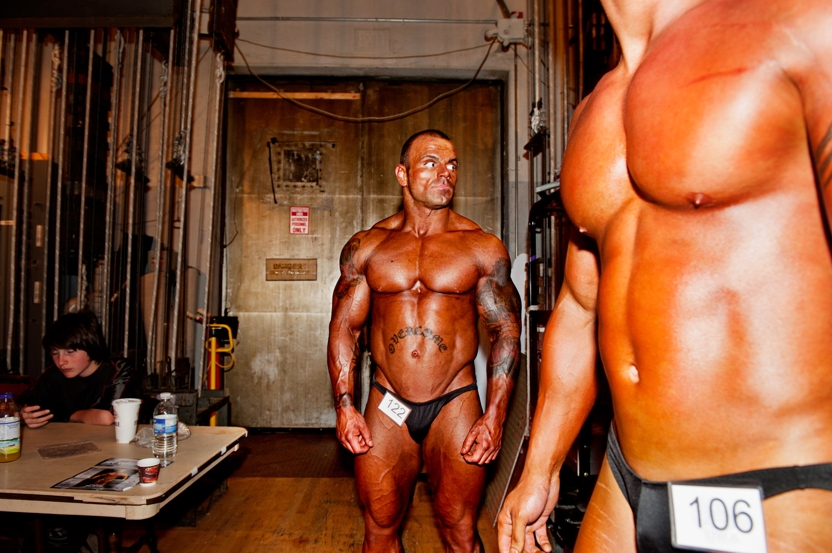 Webb Chappell editorial photography of bodybuilders