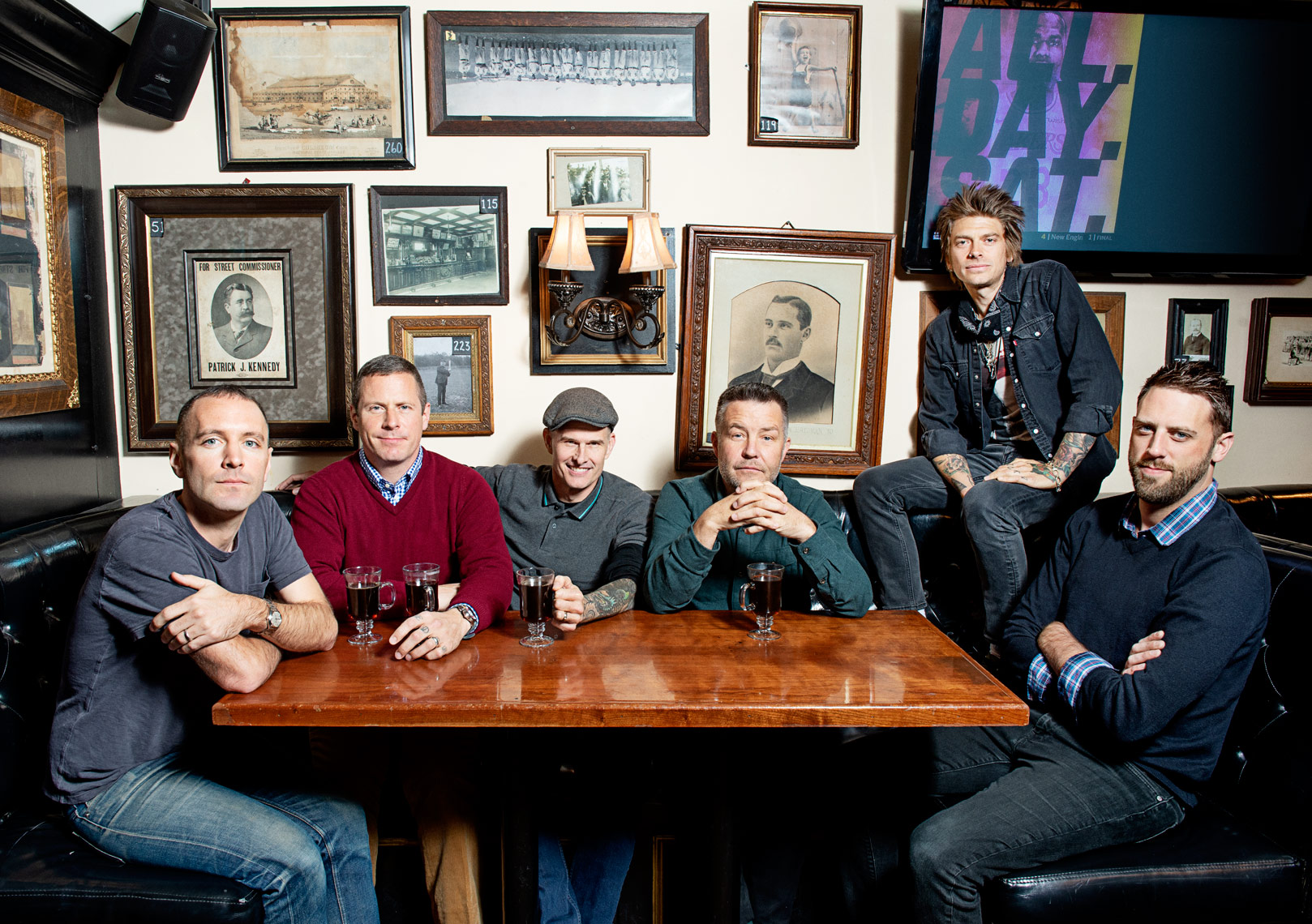 Dropkick Murphys American Celtic Punk band for Billboard Magazine