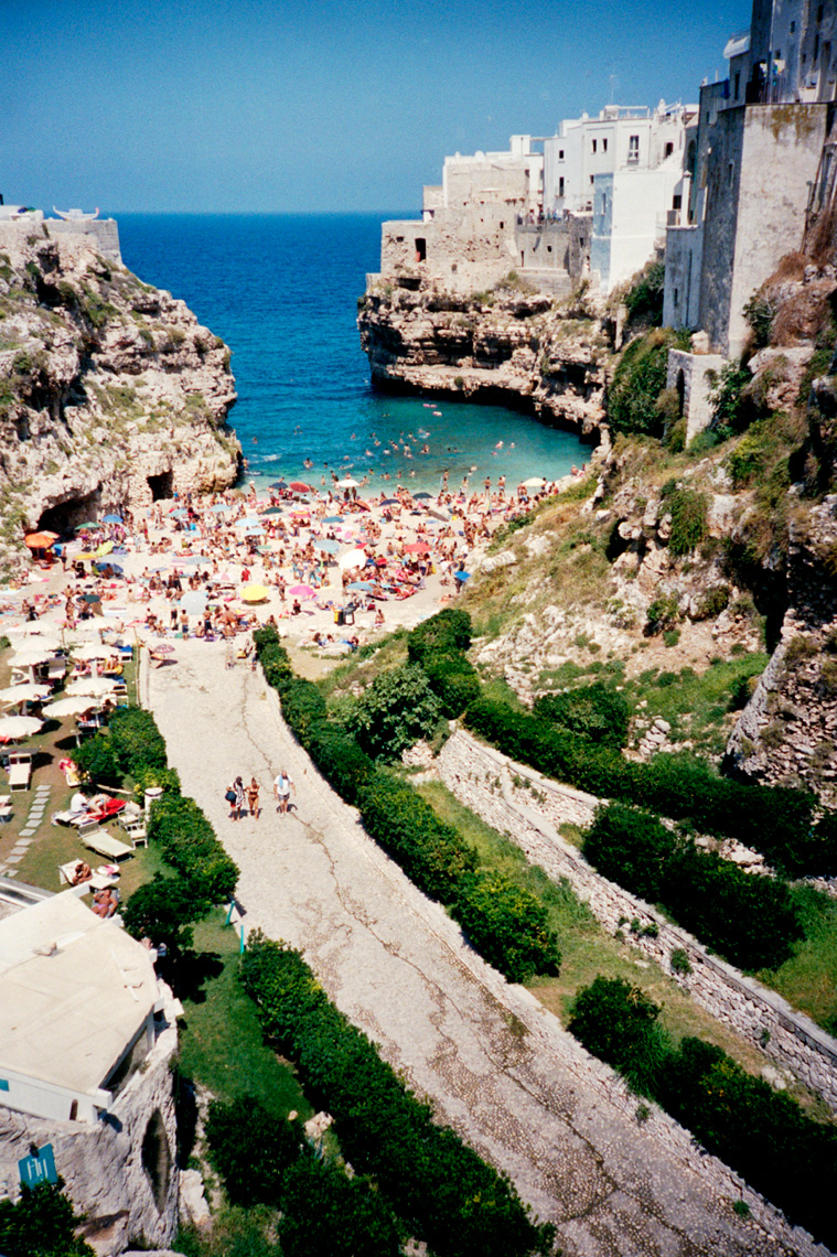 Polignano a Mare on the Adriatic Sea Puglia Italy