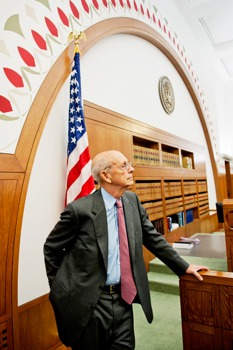 Supreme Court Justice Stephen Breyer for Metropolis Magazine, Bill Clinton, Webb Chappell Photography