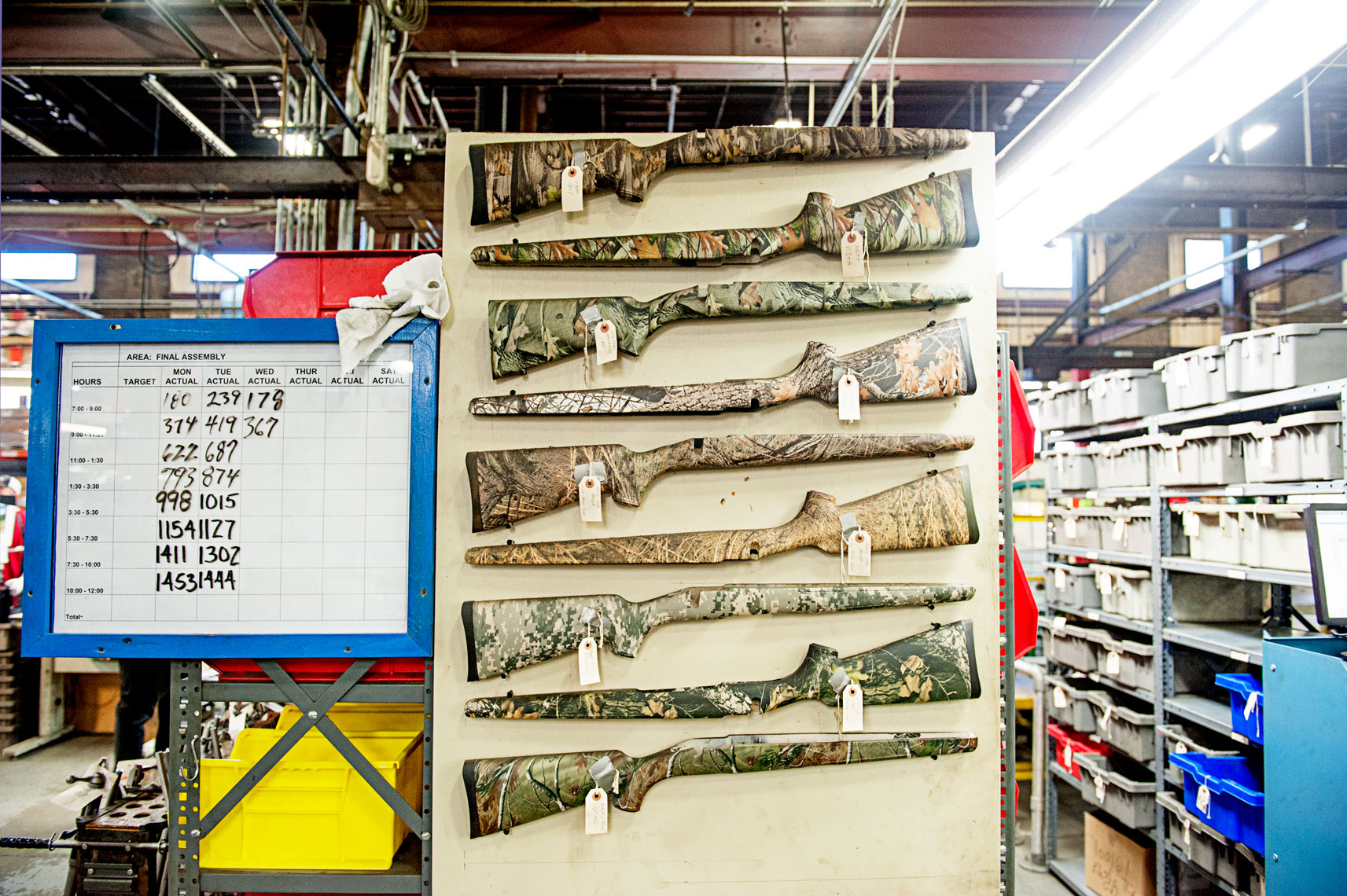gun manufacturing at Savage Arms Westfield MA