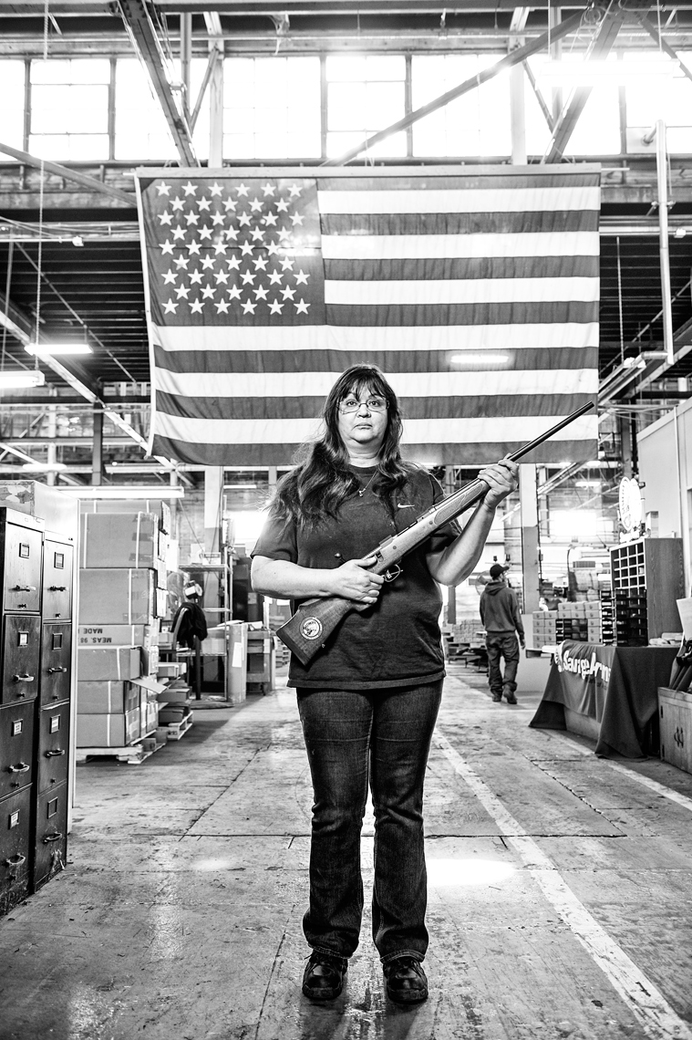 firearms manufacturing at Savage Arms feature story for the Boston Globe Sunday Magazine