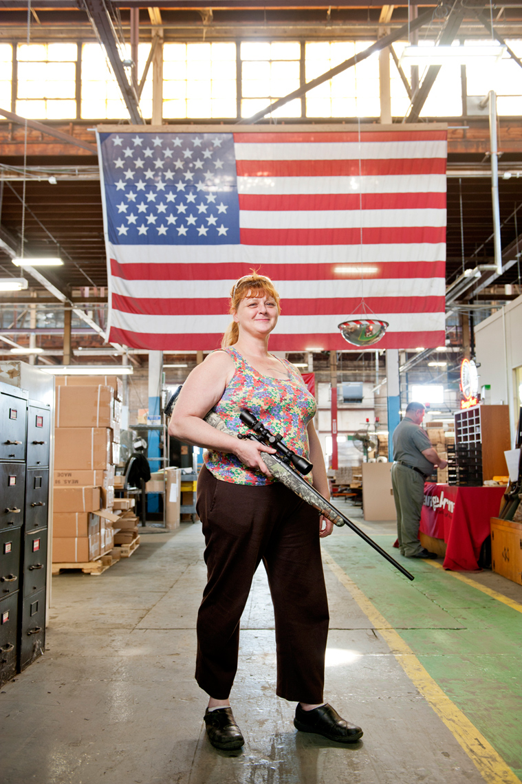 story photography on Savage Arms Westfield MA for Boston Globe Sunday Magazine