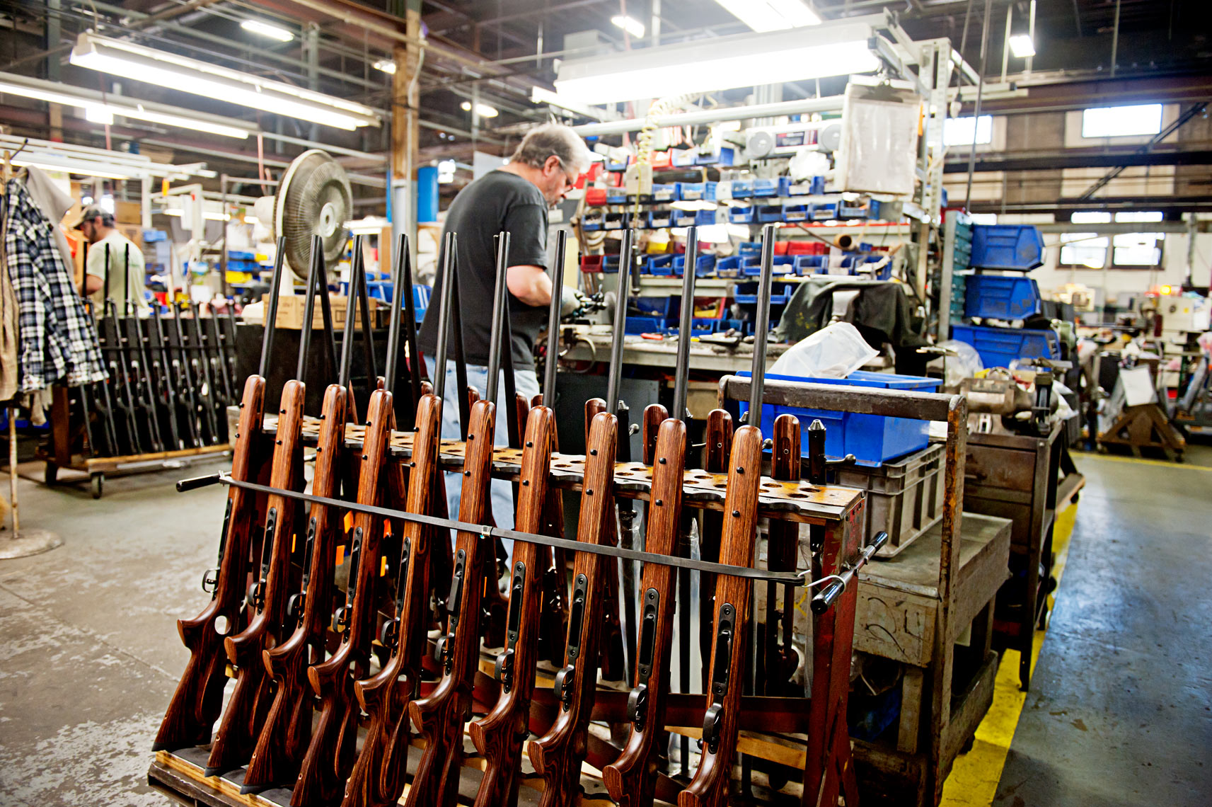 Model 99 lever action rifles made at Savage Arms Westfield MA