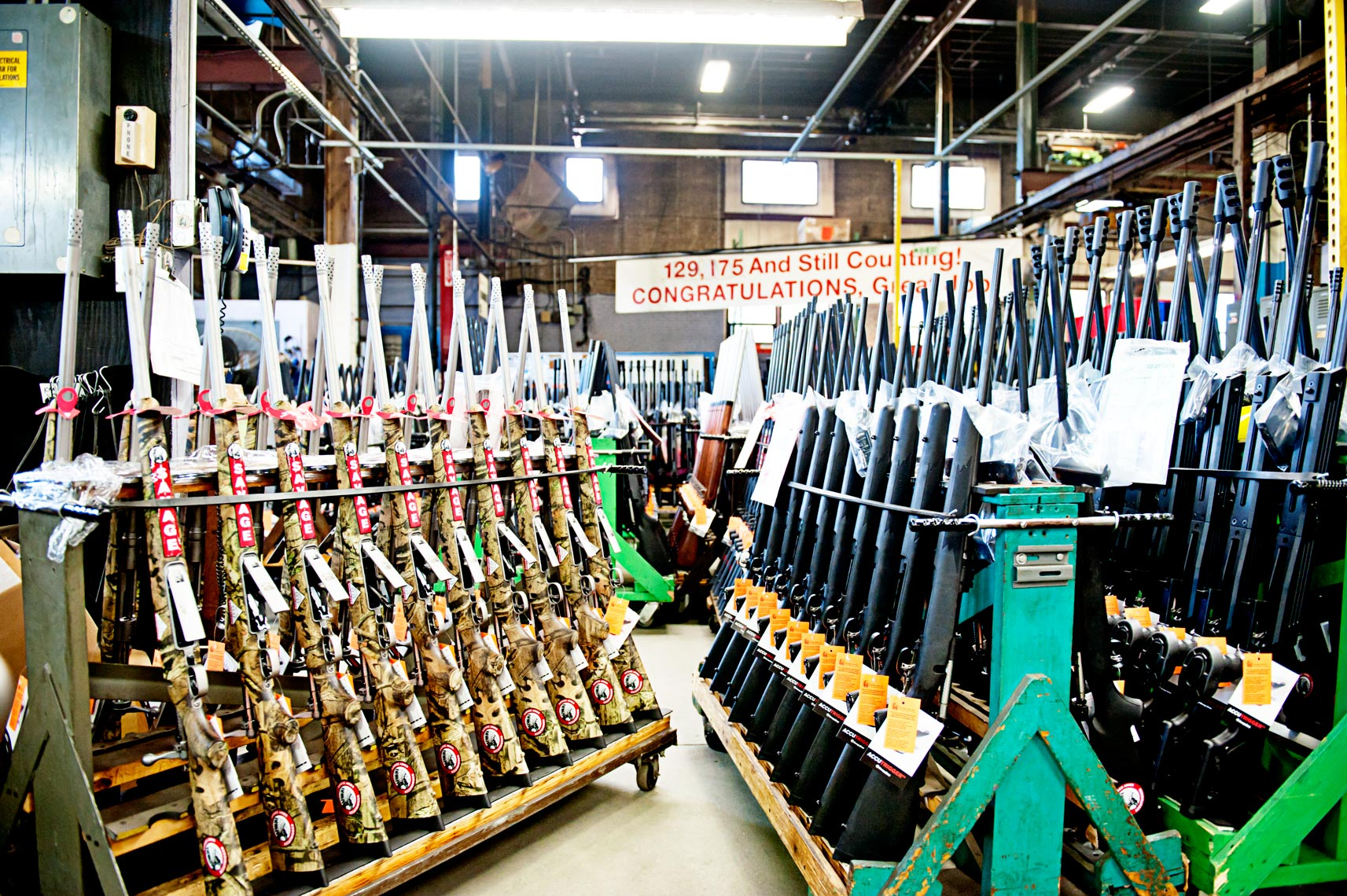 rifles and hand gun manufacturing in the USA