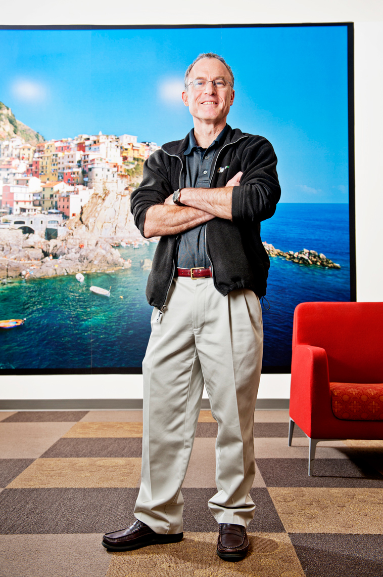 Steve Kaufer CEO of TripAdvisor Needham MA for Newton Magazine