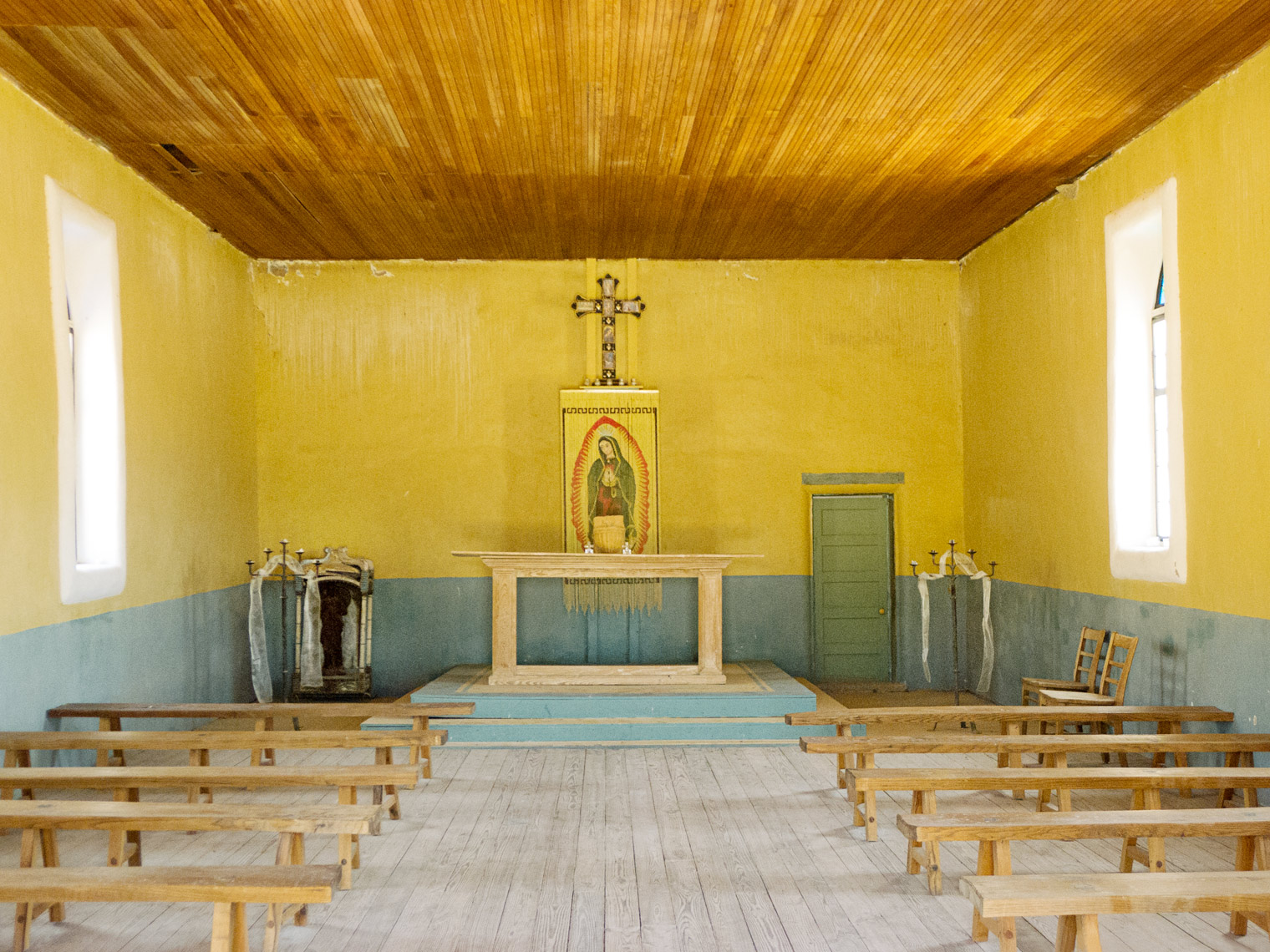 St. Agnes church in Terlingua Texas Big Bend