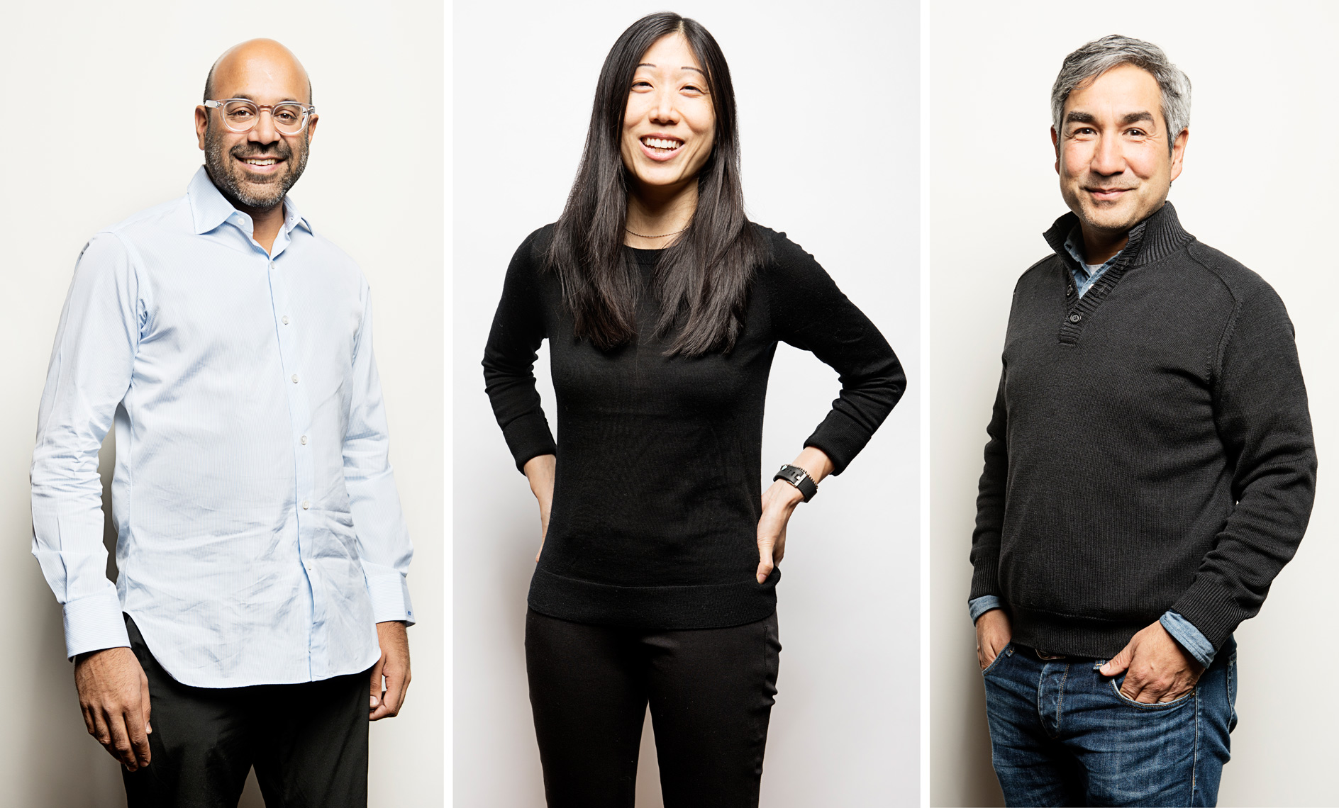 Niraj Shah of Wayfair Bijan Sabet of Spark Capital Jennifer Lum of Forge.Al for Harvard Business Review