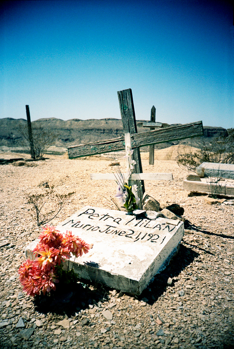 Terlingua gravesite Big Bend Texas