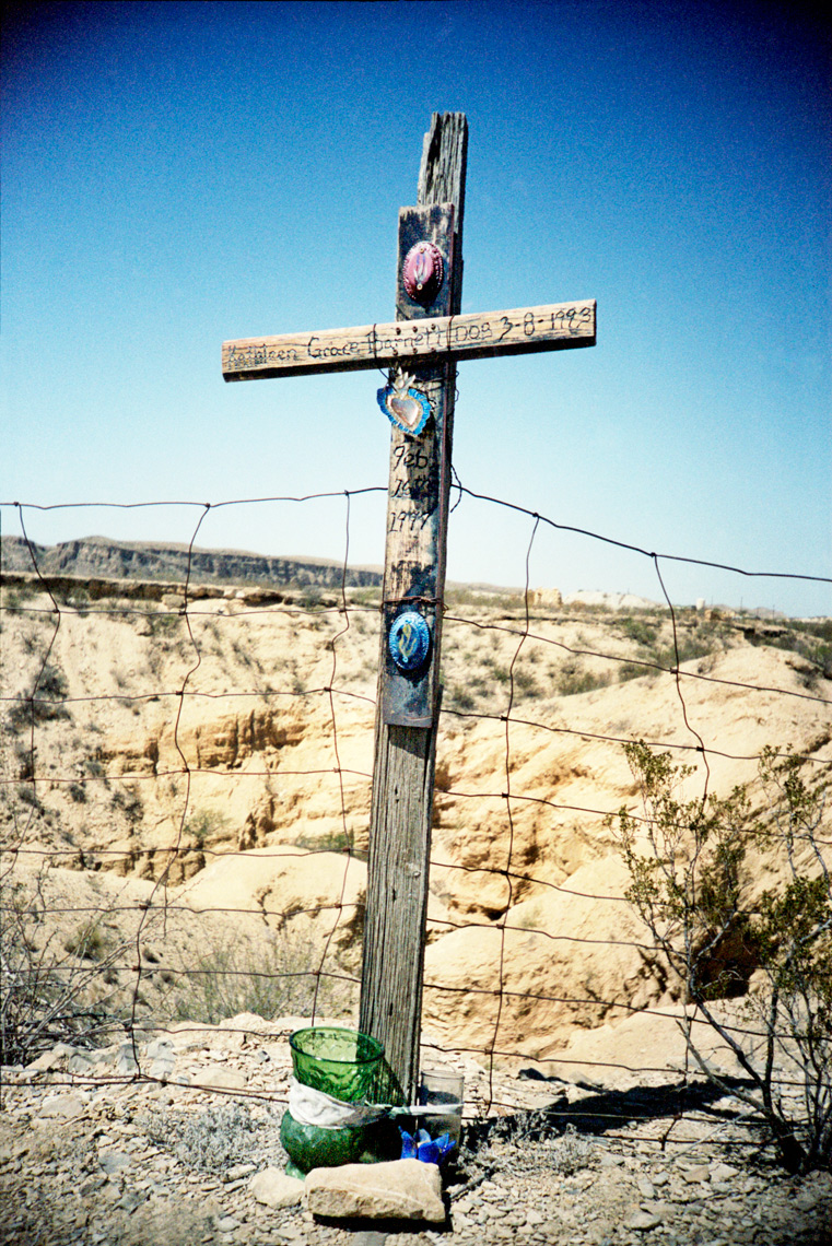 Ghost Town Terlingua grave site Big Bend TX