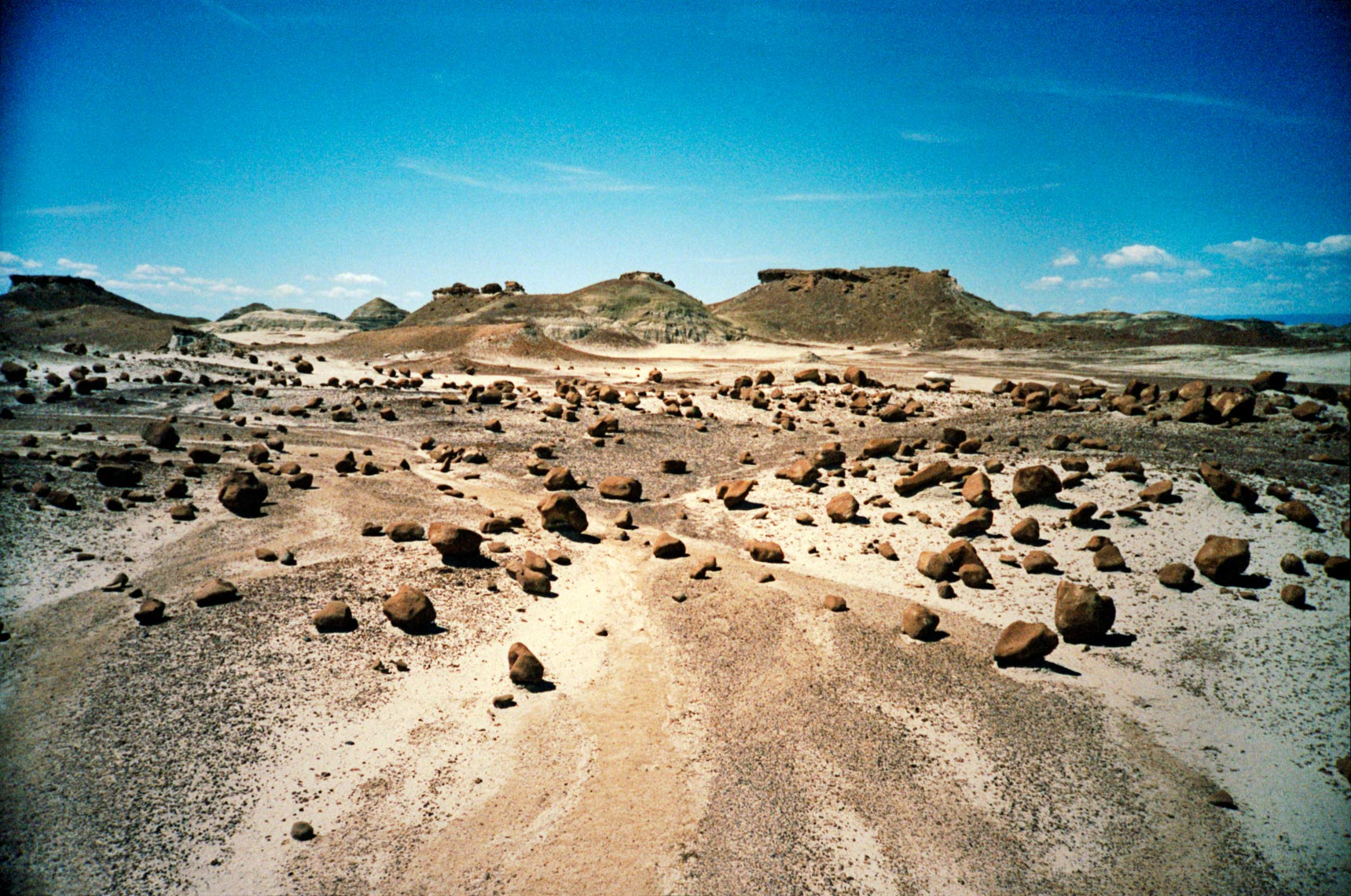 Bisti Badlands De-Na-Zin Wilderness Arizona