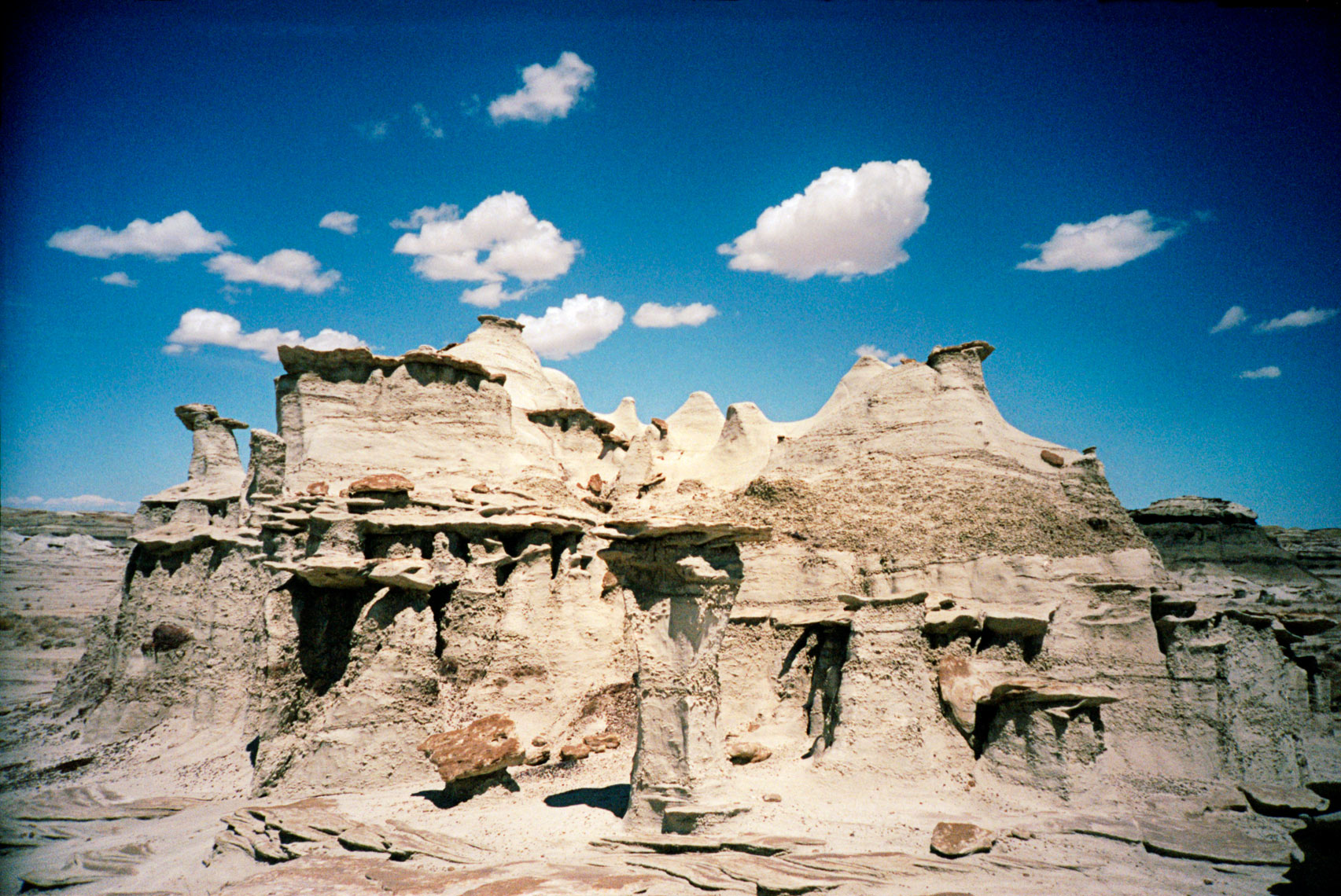 Bisti De-Na-Zin Wilderness New Mexico badlands