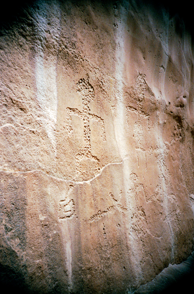 pictograph Snake Gulch Kanab Wilderness